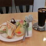 グレイス カフェ - BLTホットサンドプレート