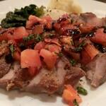 TRUNK - スペイン産オリーブ豚のグリル