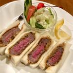ヤマモト - 和牛カツサンド
