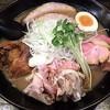 Jikoryuuramenwatamen - 料理写真:和風とんこつちゃーしゅー 大盛 燻製ハムトッピング