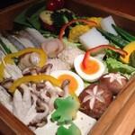 華蓮 - せいろ蒸し 野菜
