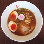 自家製麺 麺や ひなた - 味噌らーめん味玉付き1,000円