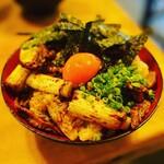 坂上家 - 焼き鶏丼
