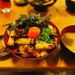 坂上家 - 焼き鶏丼定食