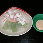 桃林寺 精進料理 - こんにゃく刺身