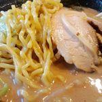 Kawasakishouten - らーめん中太縮れ麺