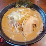 Kawasakishouten - 味噌とんこつらーめん(¥850相当無料)