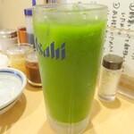 肉の佐藤 ジンギスカンとラムしゃぶ店 - 抹茶ハイ