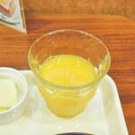 ベッカライテーオ - オレンジジュース