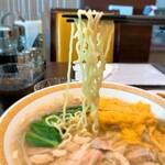 146009149 - チャイナグリーン@東京ビッグサイト とり肉そば 麺リフト