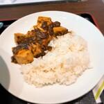 チャイナグリーン - チャイナグリーン@東京ビッグサイト 半マーボー丼