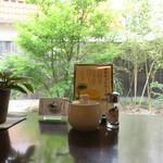 カフェ鎌倉 - 卓上の風景