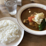 スープカレー店 34 - 料理写真:チキンカレー
