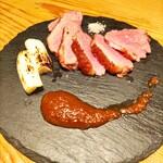 肉を喰らえ GaGa - 鴨のステーキ