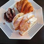 ノーラン - 料理写真:ライ(ノアレザン)、クロワッサン、リュスティック
