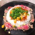 クニズ - 料理写真:ビーフペッパーライス(サンバル味)