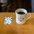 リロ コーヒー ロースターズ - ドリンク写真:コーヒーカードを渡してくれる