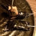 串焼・鉄板焼・くわ焼  くわくわ あびこ - ツブ貝の磯辺巻