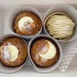 ソワメーム - 米粉シュークリームとモンブラン