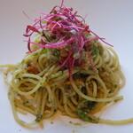 146020418 - ......②パスタ.....蟹と芹のジェノベーゼ スパゲッティーニ.....