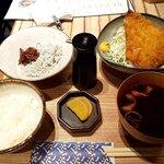 Shirasushokudoujakoyananadaimeyamari - アジフライ定食