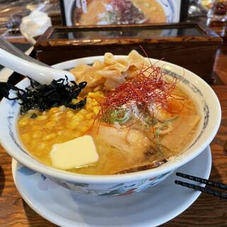 すみれ - 料理写真:新・みそⅡ  3種盛り(コーン・バター・しなちくもりもり)