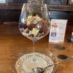 ジゅんベリーCafe - チョコレートパフェ 1,600円