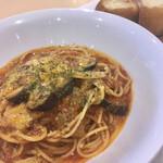 ダール フルット - 料理写真:なすとトマトとチーズの相性