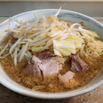 ラーメン JIDAI - 料理写真:ラーメン野菜マシにんにくアブラカラメ