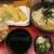 自家製うどん・天丼 中西 - 料理写真:アナゴ天ざるうどん かやく付