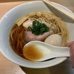 146032318 - スープ 鶏油たっぷり