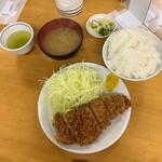 とんかつ いちかつ - 上ロースカツ定食 1,200円(税込)