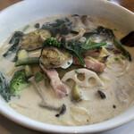 今日和 - いろいろ野菜のクリームスープ