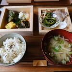 松庵文庫 - お米御膳(2020.07.25)