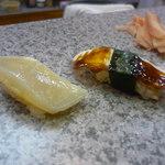 鮨よし - 料理写真:たいらぎ、タコ