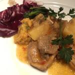 146041803 - 若鶏もも肉とポルチーニ茸 男爵芋のボッコンチーニ