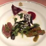 146041805 - ランチのサバティーニ風前菜の盛り合わせ