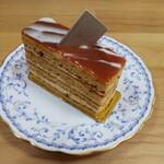 146046189 - キャラメルサレ。好きなケーキで打線を組め❗️なんて企画があったら 間違いなく上位打線に組み込みたい。