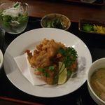 Tratt庖丁六番店 - 鶏の竜田揚げ定食(¥800)