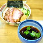 麺処 有彩 - '21.01特製昆布つけ麺醤油
