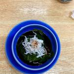 宝来寿司 - ひとはめの酢の物