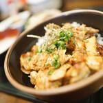 とりビアー - 焼き鳥丼セット
