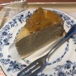 ドトールコーヒーショップ - 安納芋のミルクレープ