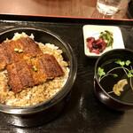 双葉 - 上鰻丼セット 2840円税込