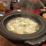 小倉鉄なべ - 水炊き餃子