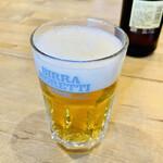 Pizzeria da Torachici - BIRRA MORETTIのグラス