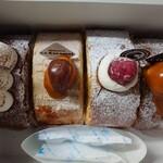 ル・キャラメル - 料理写真:ロールケーキ4種