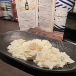 ふわり - 大根とホタテのサラダ。サッパリとしていてとても食べやすい。ホタテがいい味だしてます。
