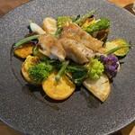 レストラン ビブ - 宮崎県産若鶏もも肉のロースト