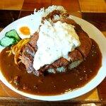 神戸トルコライス - 料理写真:かつトルコ大 税込800円+100円